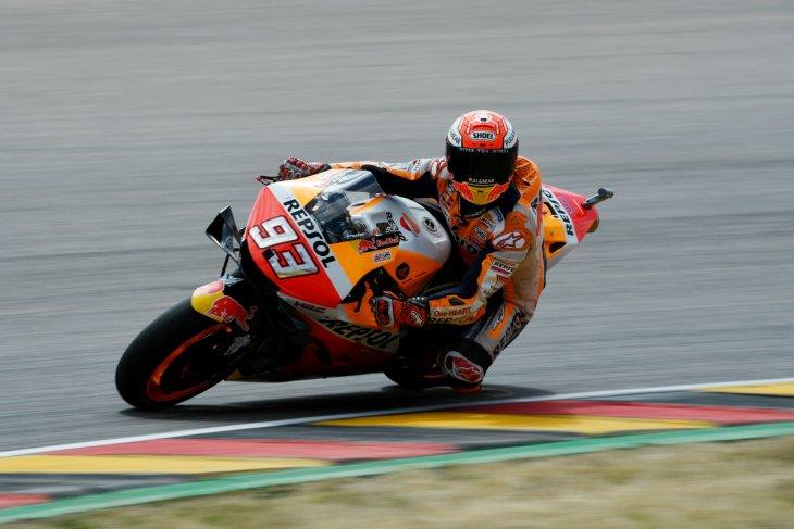 Fakta dan Statistik GP Jerman Marquez dari pole position