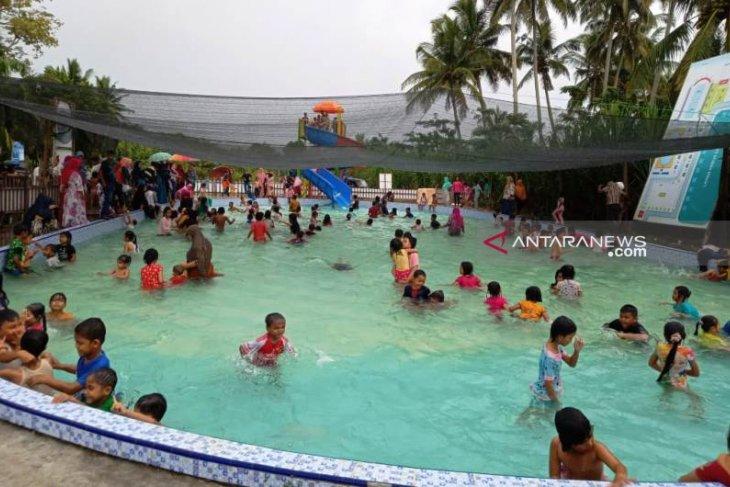 Wisata bermain dari dana desa raup keuntungan besar di Aceh Barat