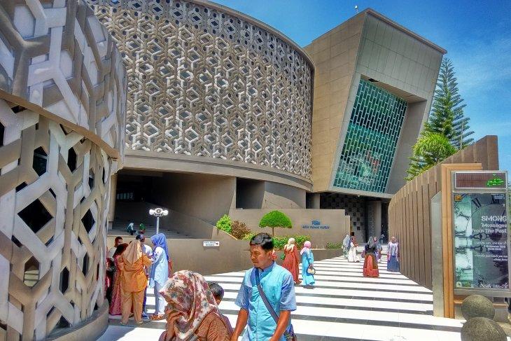 Museum tsunami Aceh favorit kunjungan peserta SMN  Banten
