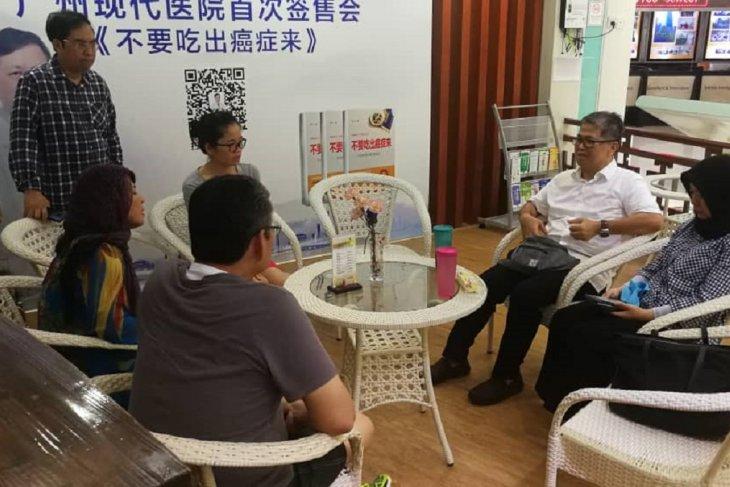 KJRI Guangzhou mengupayakan pemulangan segera jenazah Sutopo Purwo Nugroho