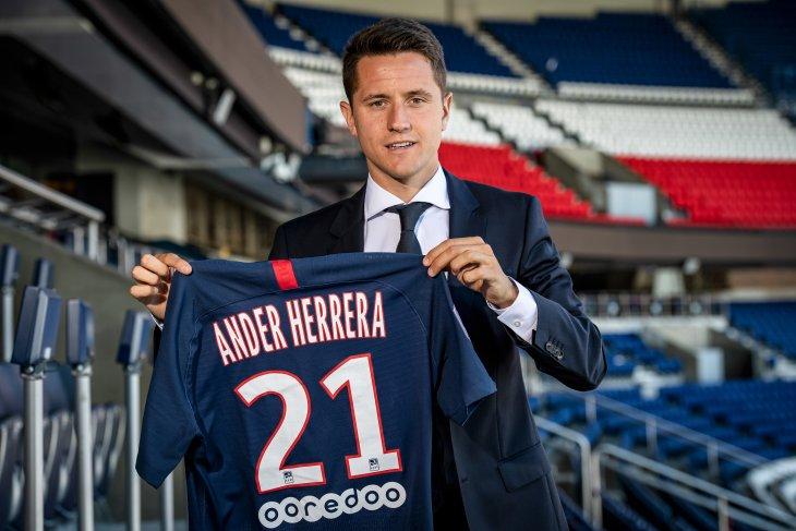 Ander Herrera mengaku beruntung bisa gabung PSG
