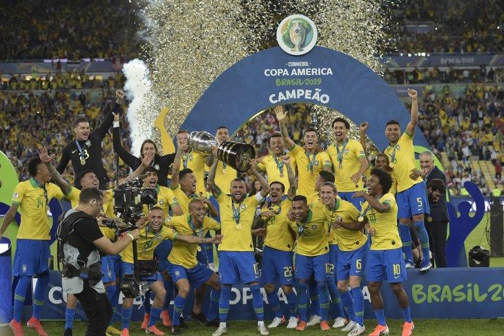 Daftar juara Copa America, Brasil kini mengoleksi sembilan trofi