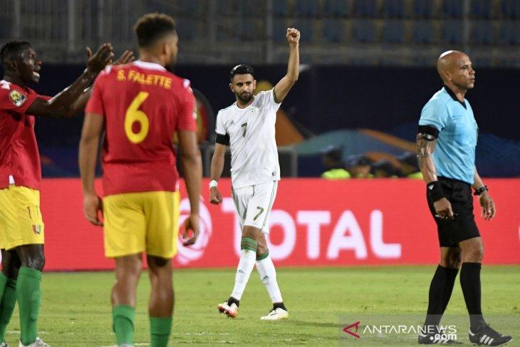 Mahrez sebut kalahkan Guinea tidaklah mudah
