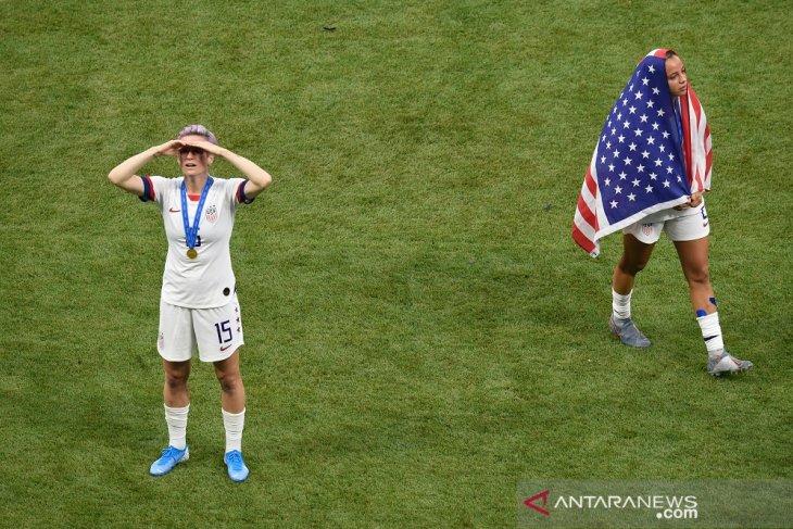 Trump ucapkan selamat atas keberhasilan AS juarai Piala Dunia Putri