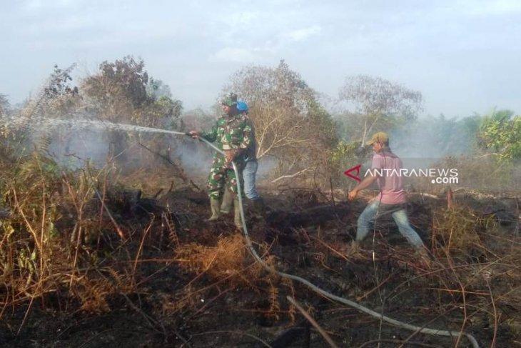 Kebakaran lahan di Aceh Barat meluas capai 35  hektare