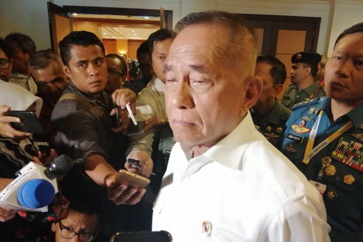 Menteri Pertahanan Ryamizard Ryacudu dukung anggota TNI daftar capim KPK