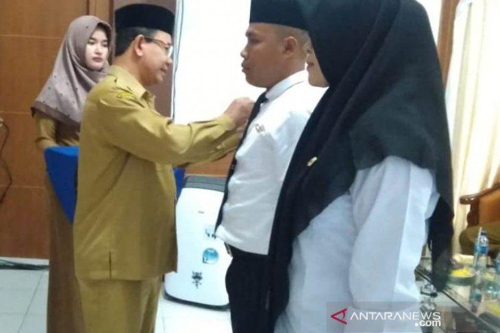 BKPSDM gelar pelatihan dasar CPNS pola kemitraan di Aceh Jaya