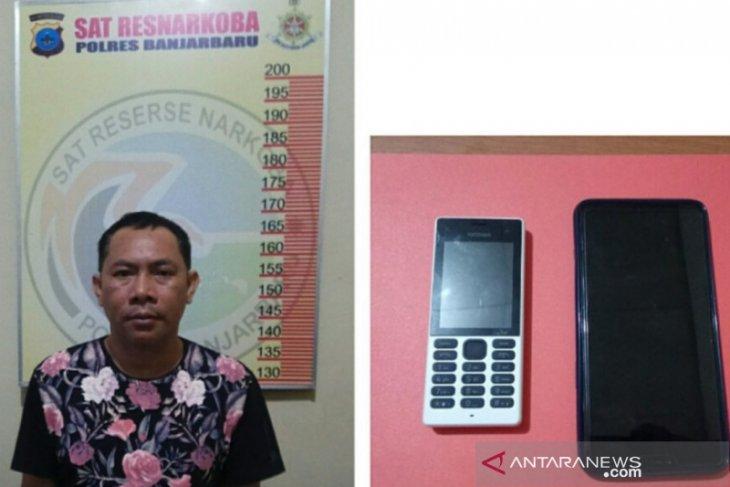 Pengedar 123 gram sabu-sabu ditangkap Polres Banjarbaru
