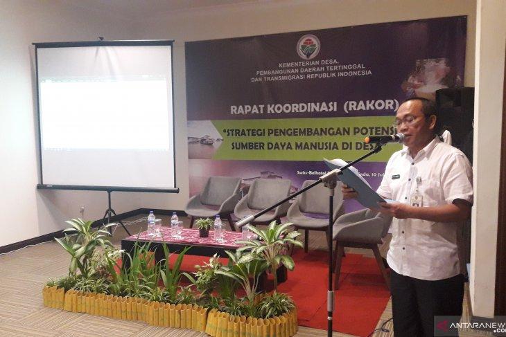 Kaltim Lokasi Ketiga Pelaksanaan Rakor dan FGD Strategi Pengembangan SDM di Desa