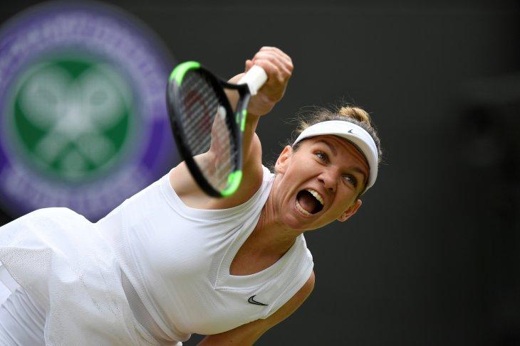 Halep lolos final Wimbledon pertama usai kalahkan Svitolina