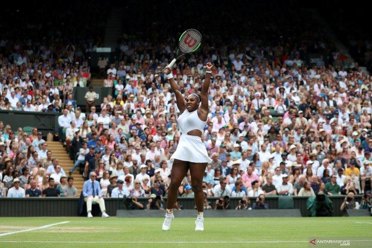 Serena terinspirasi Tiger Woods 43 tahun