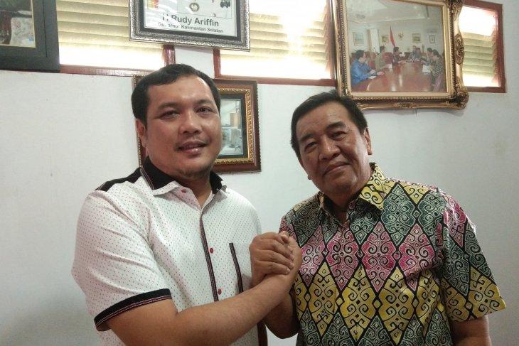 Aditya - Iwansyah pastikan maju pilkada Banjarbaru