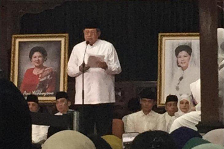 Sejumlah tokoh hadiri peringatan 40 hari wafatnya Ani Yudhoyono