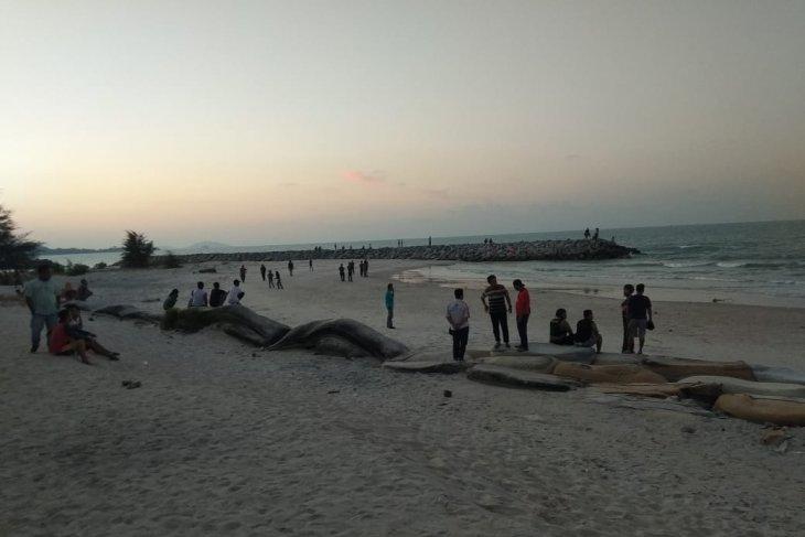Satu anak tenggelam di pantai Matras Bangka Belitung