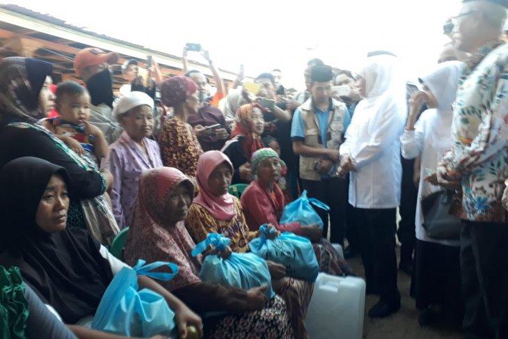 Gubernur beri bantuan tandon air wilayah terdampak kekeringan di Bondowoso
