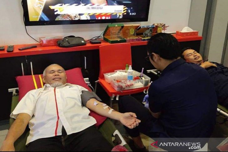 Donor Darah HUT PT Telkom