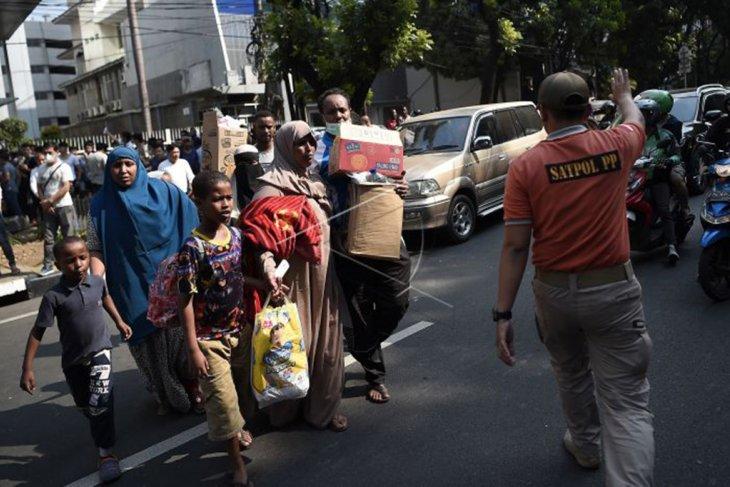 WNA pencari suaka dipindahkan dari Kebon Sirih