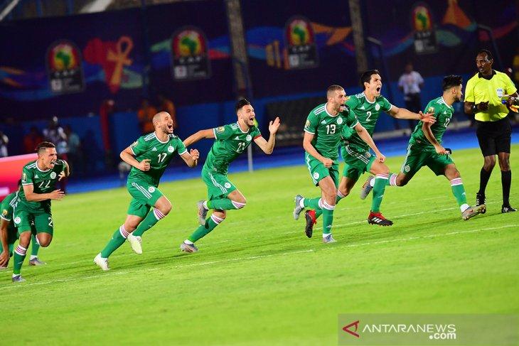 Aljazair ke semifinal setelah singkirkan Pantai Gading lewat adu penalti