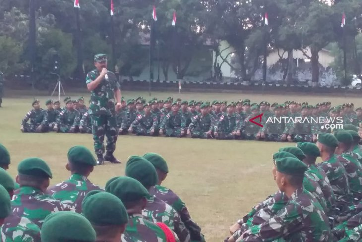Panglima TNI ingatkan prajurit waspadai ancaman ladang ganja di perbatasan