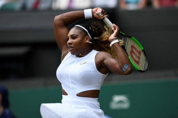 Serena tantang Halep di final Wimbledon