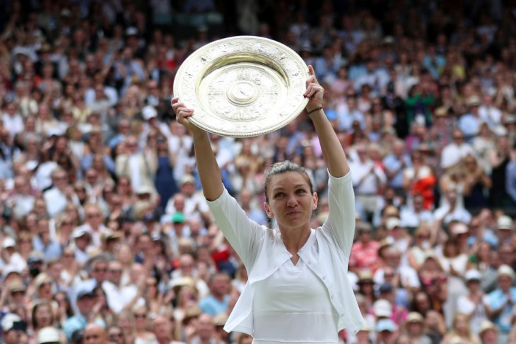Mantan petenis Halep juarai Wimbledon