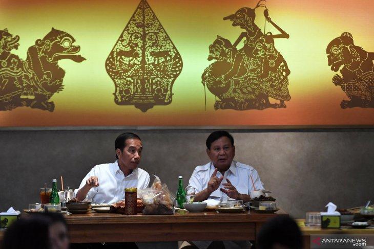 Jokowi-Prabowo bertemu, dinilai pemimpin yang matang berdemokrasi