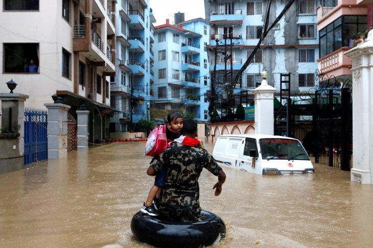 Banjir di Nepal, 47 tewas