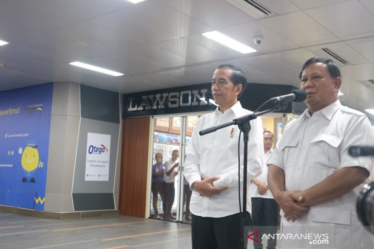 Jokowi vouches that meeting was one between friends