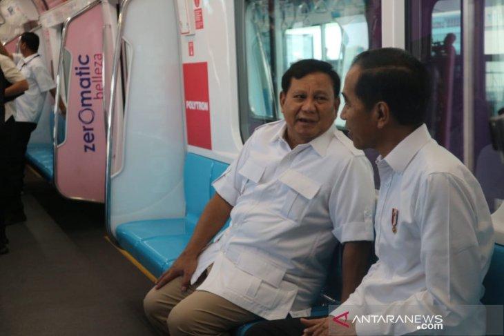 Jokowi-Prabowo: jangan ada lagi 'cebong-kampret'