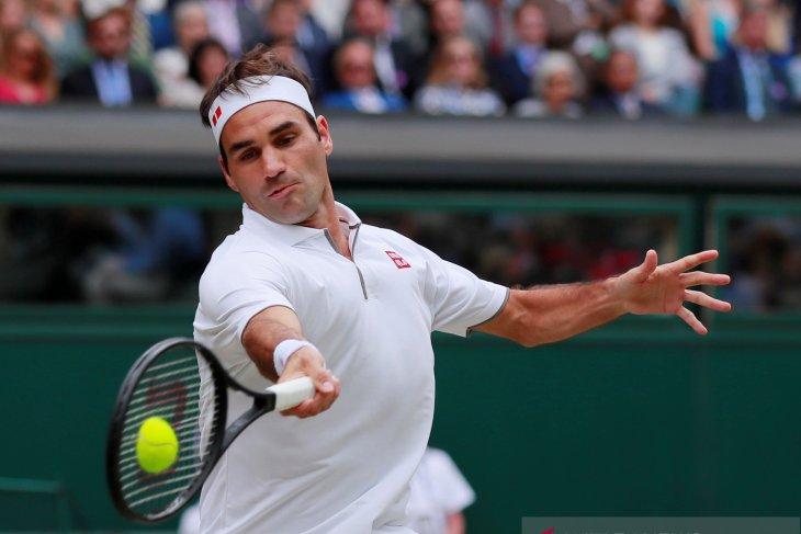 Federer ratapi pupusnya peluang di depan mata