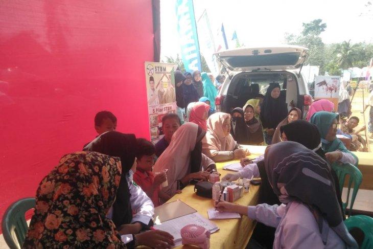 Ratusan warga Mukomuko ikuti pemeriksaan kesehatan gratis