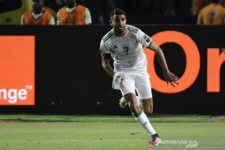 Setelah kalahkan Nigeria, Mahrez antar Aljazair ke final tantang Senegal
