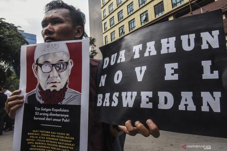 Tim teknis kasus Novel Baswedan  bekerja Agustus