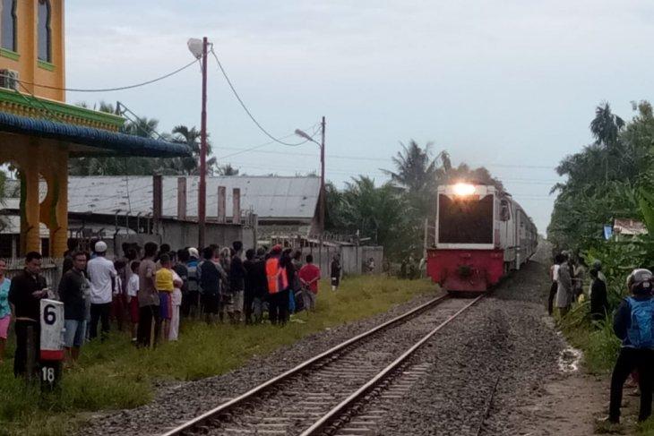Seorang warga Binjai meninggal ditabrak kereta api