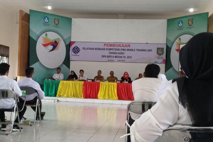 BBPLK Medan gelar pelatihan berbasis kompetensi di Asahan