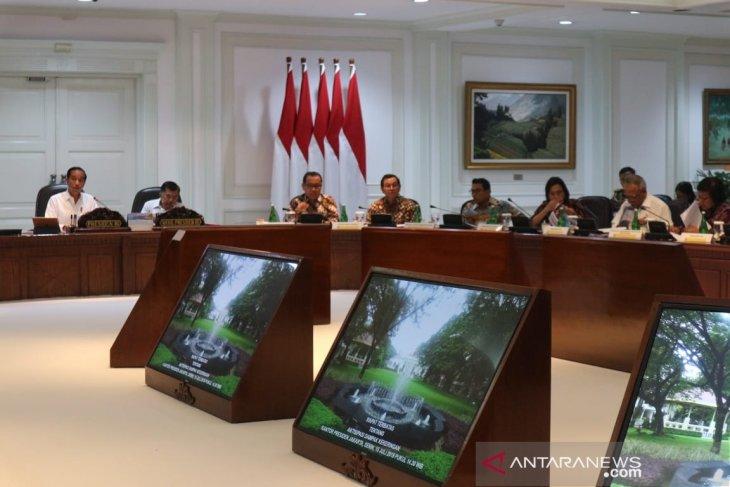 Presiden perintahkan menteri kabinet kerja  antisipasi dampak kekeringan