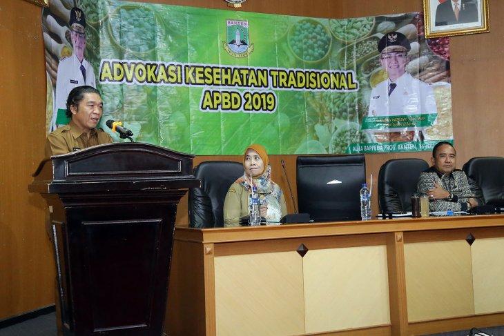 Pemprov Banten dorong warga manfaatkan pengobatan tradisional