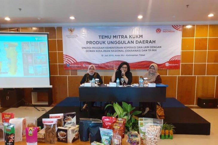 Emilia Suhaimi kenalkan Smesco Indonesia kepada KUKM Kaltim