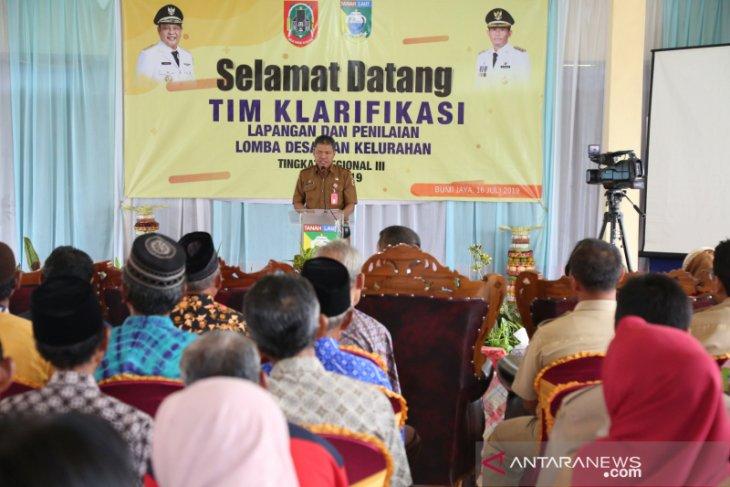 Bumi Jaya big five in national village contest