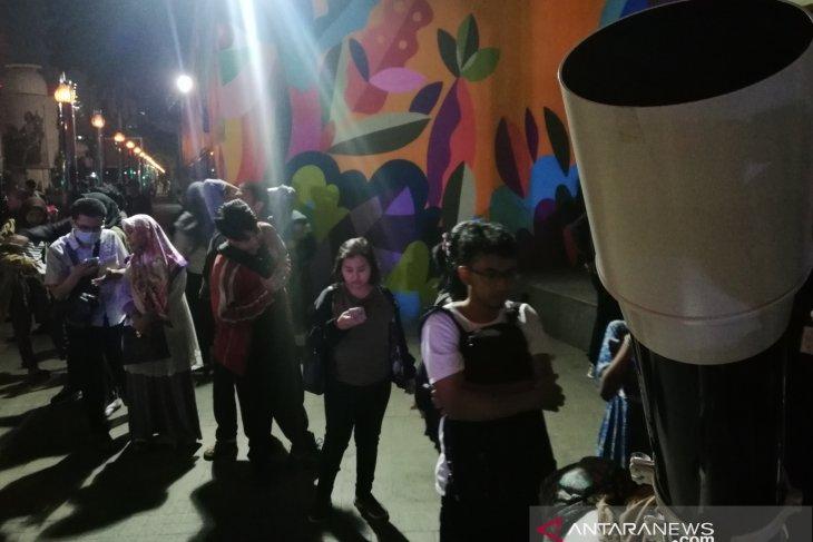 Planetarium Jakarta diserbu warga yang ingin saksikan gerhana bulan