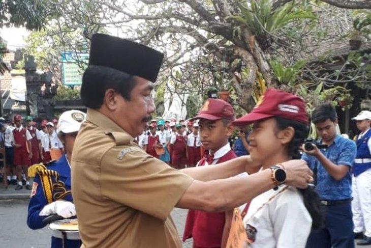 Pengenalan sekolah tingkat SMP di Denpasar tidak dipelonco