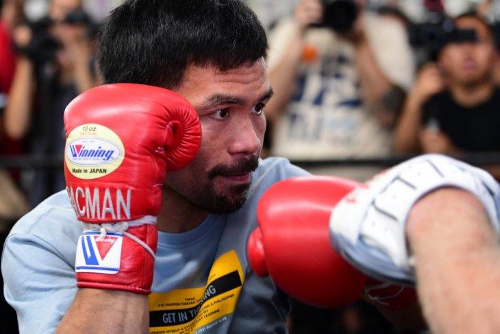 Manny Pacquiao akan naik ring lawan Khan di Arab Saudi