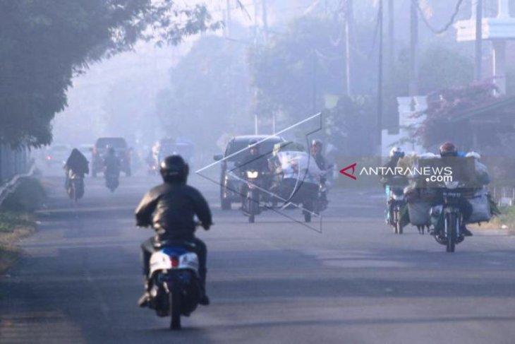 Titik kebakaran lahan di Aceh Barat  kian meluas akibat kemarau