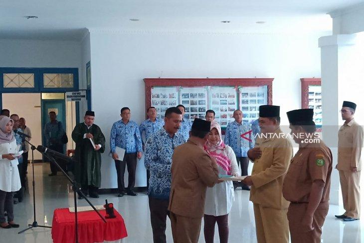 Lagi, pejabat eselon III dan IV di lingkungan Pemkab Madina dilantik