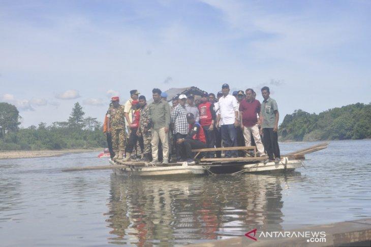 Gubernur Aceh janji jembatan Bintah rampung tahun 2020