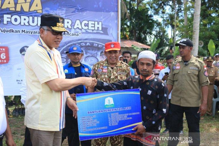 Bantu desa tertinggal di Aceh Jaya, Gubernur bawa 13 SKPA dan CSR Aceh