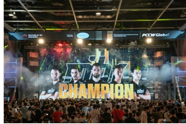 Immerse yourself in an e-sports extravaganza at the e-Sports & Music Festival in Hong Kong