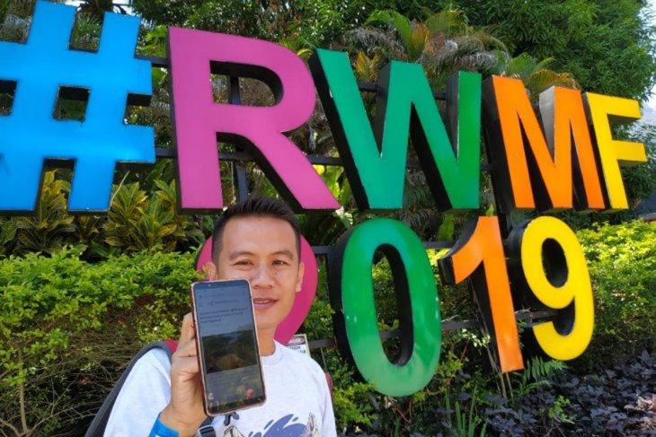 Layanan Sarawak Tourism Board  di  Rainforest World Music Festival 2019 meningkat