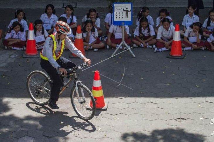 Sosialisasi keselamatan bersepeda