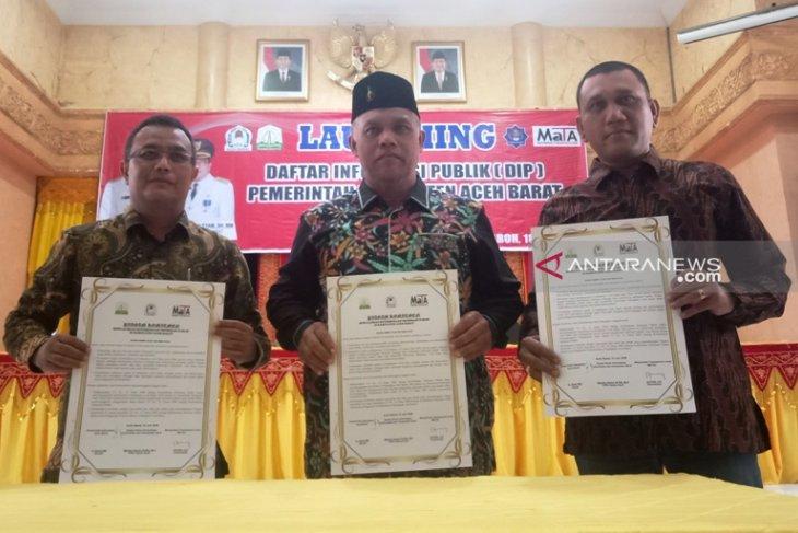 Pemkab Aceh Barat luncurkan Daftar Informasi  Publik